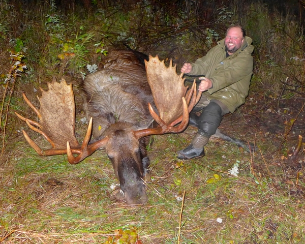 2016: Another Record Bull Moose Harvest for Willow Air Alaska